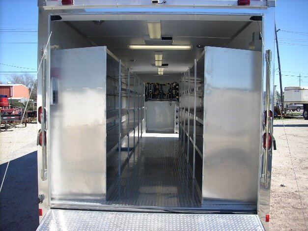 Emergency Response Bunker Gear Trailer