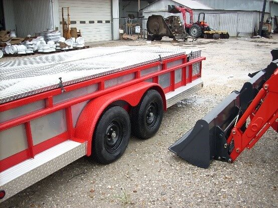 Hose Trailer Low Profile